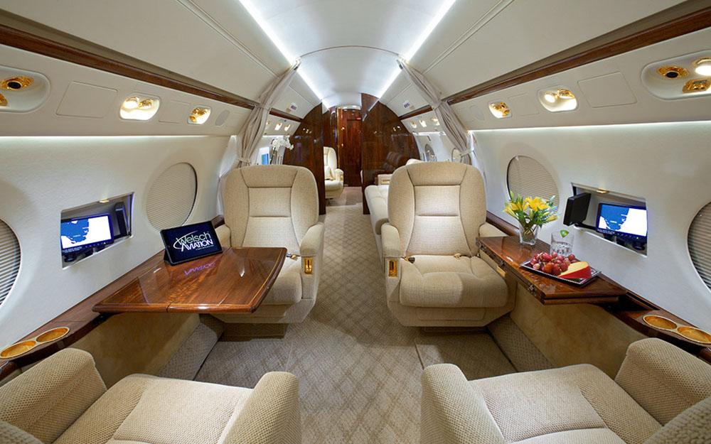 2008 Gulfstream G550 S N 5217 Leader Luxury