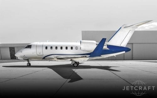 2016 Bombardier Challenger 650 S/N 6076