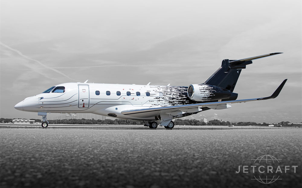 2018-Embraer-Legacy-500-sn-55000086